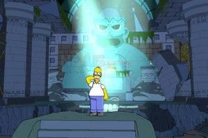 Jetzt wird´s Gelb: Simpsons the Game 360