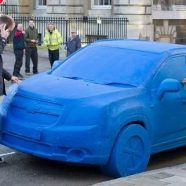 Chevrolet Orlando aus Plastilin in London