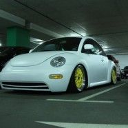 Summer Night 2012: Autotreffen in Parkgarage in Wien-Floridsdorf