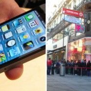 Das iPhone 5 nun in Wien: Fans harren vor den Shops aus
