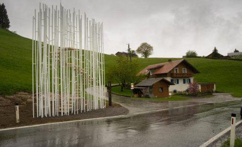 ... Juppe - Plakat sorgt für Aufregung im Wald - © Musikverein Krumbach