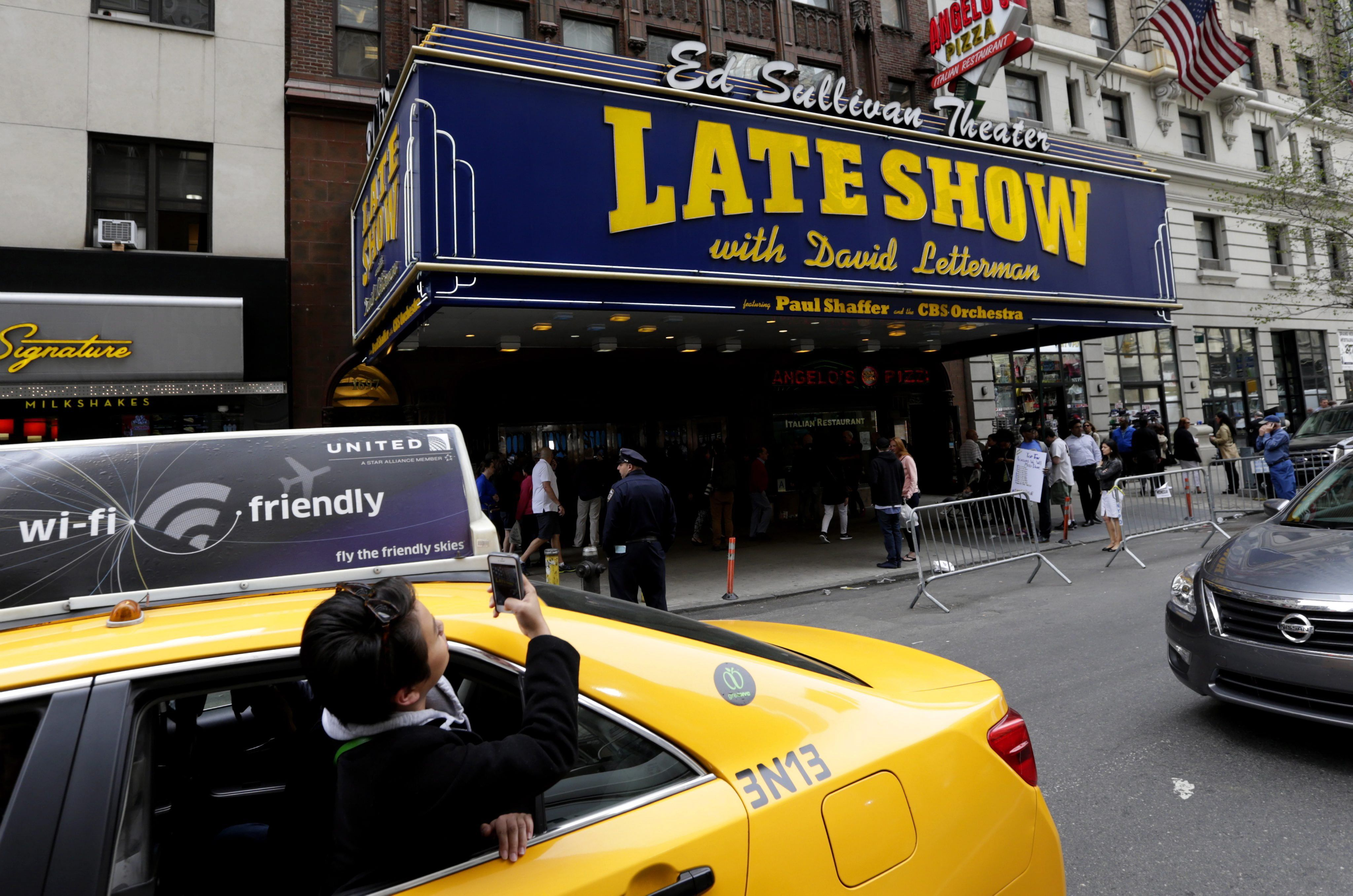The Late Show with David Letterman - EPA