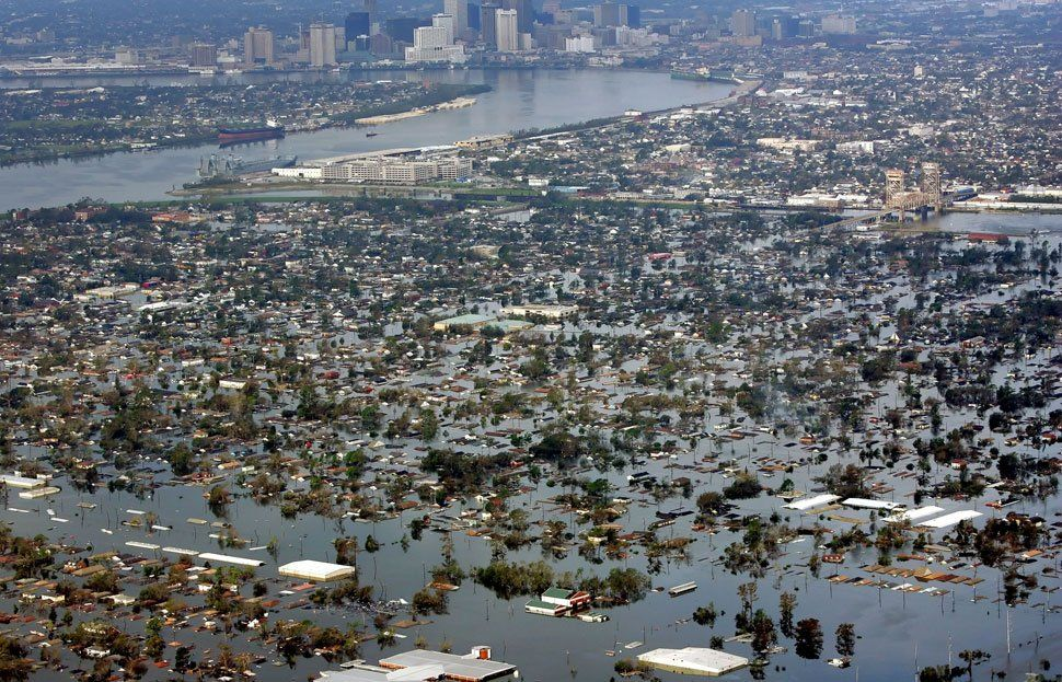 Traumas associated with katrina