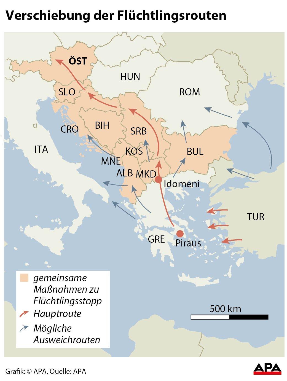 Flüchtlinge Westbalkan
