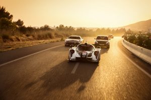 Gumball 3000 stoppt bei der Tuning World Bodensee