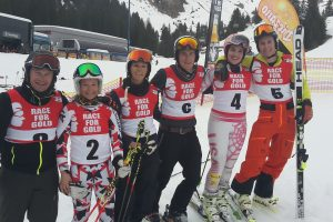 Spannende Duelle beim Race for Gold