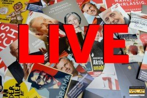 Bundespräsidenten-Wahl 2016: Alle News im VOL.AT-Liveticker und via Livstream