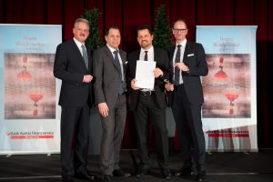 "Vorarlberger holt sich ""Number One Award"""