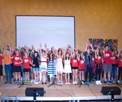 School-out Party in der Mittelschule