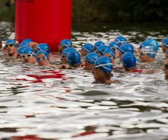 400 Triathleten rocken am Jannersee in Lauterach