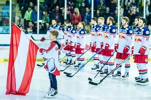 Salzburg in Champions Hockey League gegen SC Bern