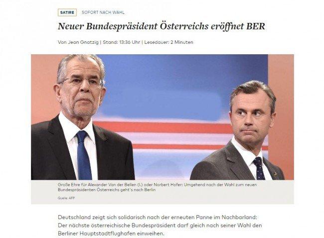 österreich wahl bundespräsident