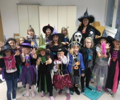 Halloweenprobe Kinder und Jugendchor Montfort Voices Weiler