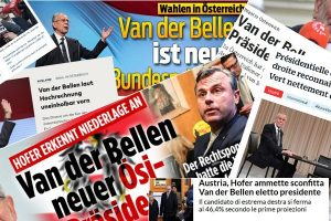 Internationale Reaktionen auf Van der Bellens Wahlsieg