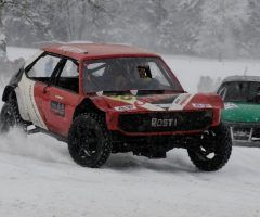 Action pur beim Ice-Race