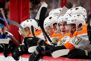 Philadelphia unterlag mit Raffl in der NHL Columbus