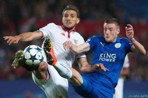 Leicester darf in Champions League dank Vardy hoffen