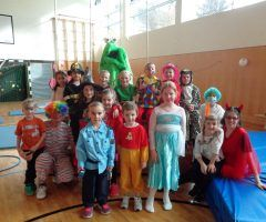 Fasching in der Turnhalle Weiler