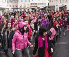 """One Billion Rising"": Tanz gegen Gewalt"