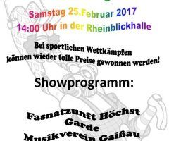 Kinderfasching Gaißau am 25. Februar 2017