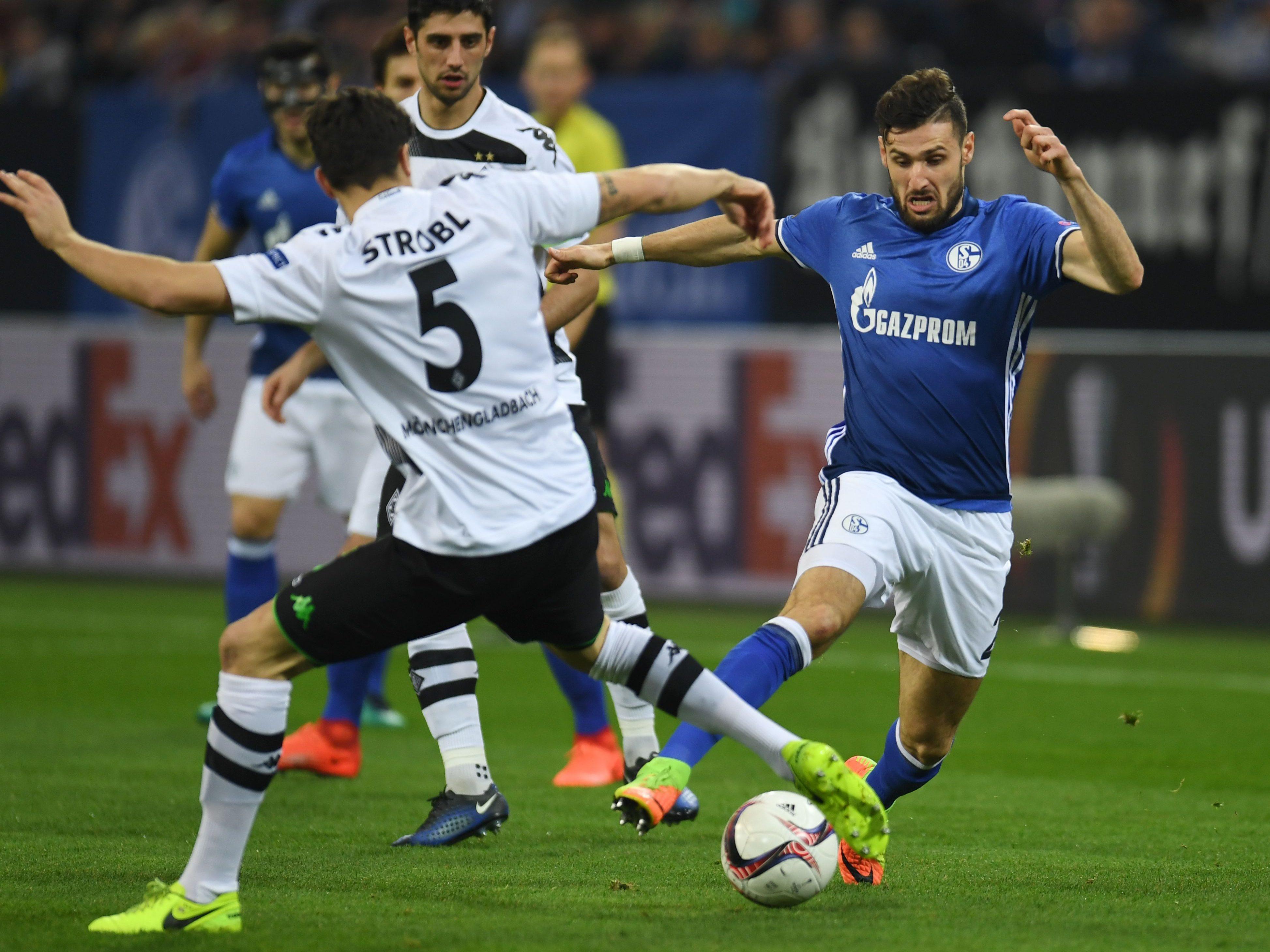 Hier wird Borussia Mönchengladbach gegen Schalke 04 gezeigt: Live-Stream, TV-Übertragung  und Ticker - Fussball - VIENNA.AT