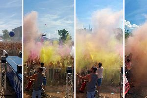 Das war das Holi Flash - Spirit of Colours 2017