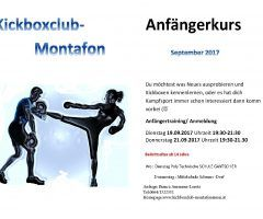 Anfängertraining September