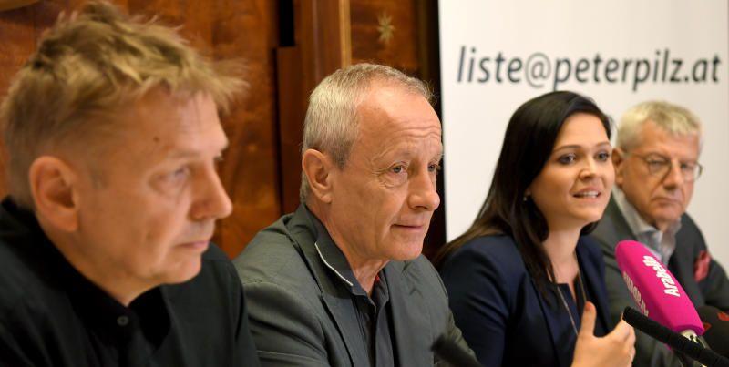 Peter Pilz und seine Alphas: Drei Routiniers und eine rebellische Rote
