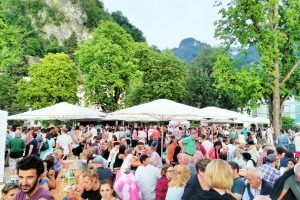 Salsa Night am Schlossplatz