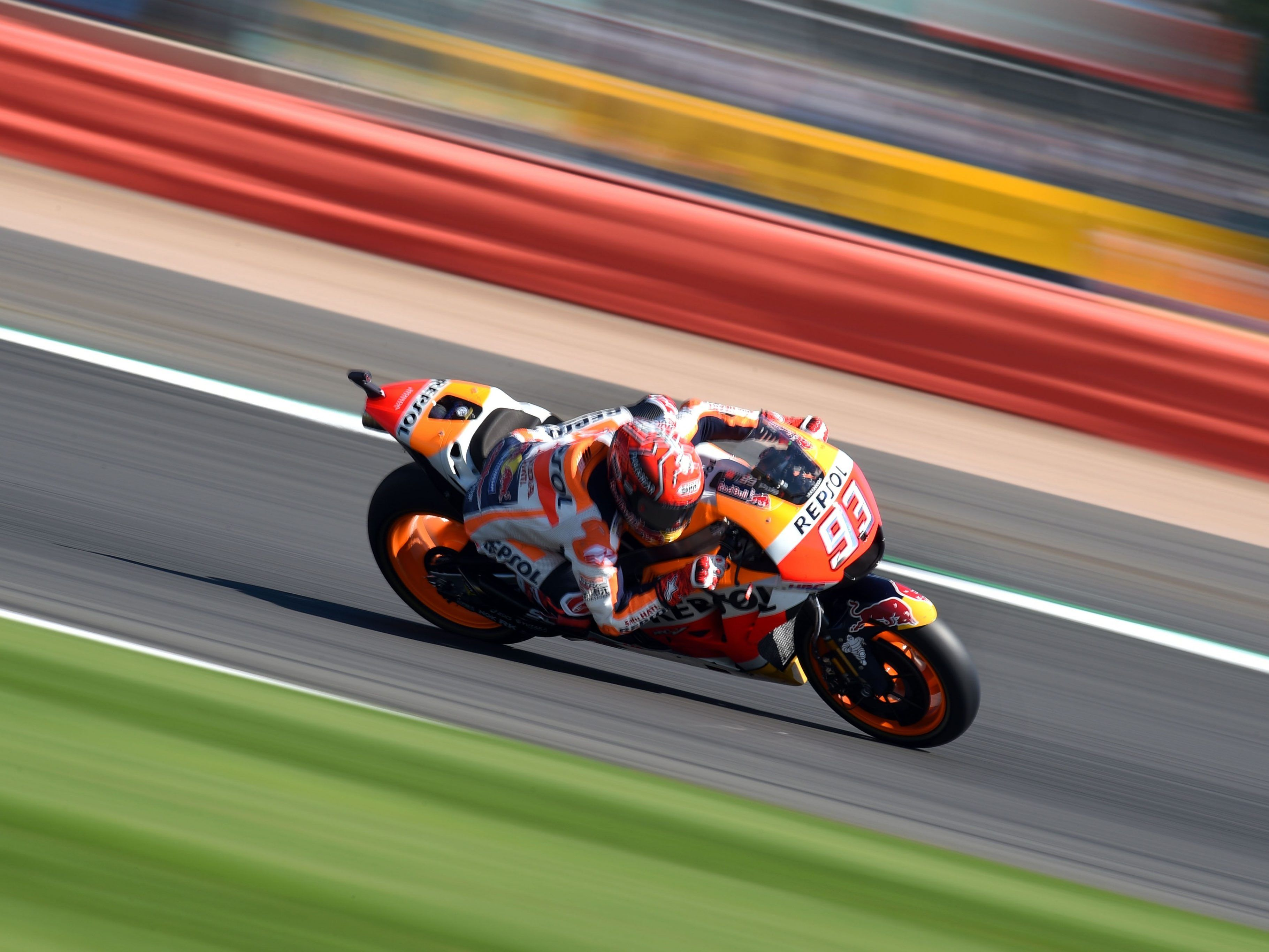 Auch in Silverstone Favorit: Marc Marquez.