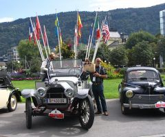Start zur 11. Motor-Veteranen Trophy in Vorarlberg