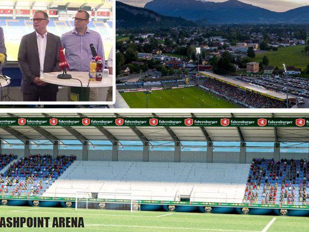 Neubau Der Sudtribune In Altach Fixiert Stadion Wird