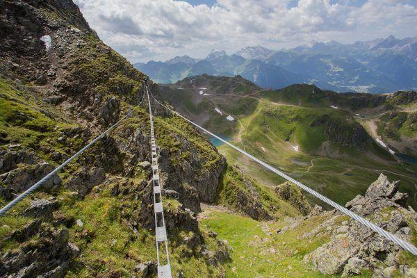 Klettersteig Vorarlberg : Wahre gratwanderung u2013 vorarlbergs längster klettersteig vorarlberg