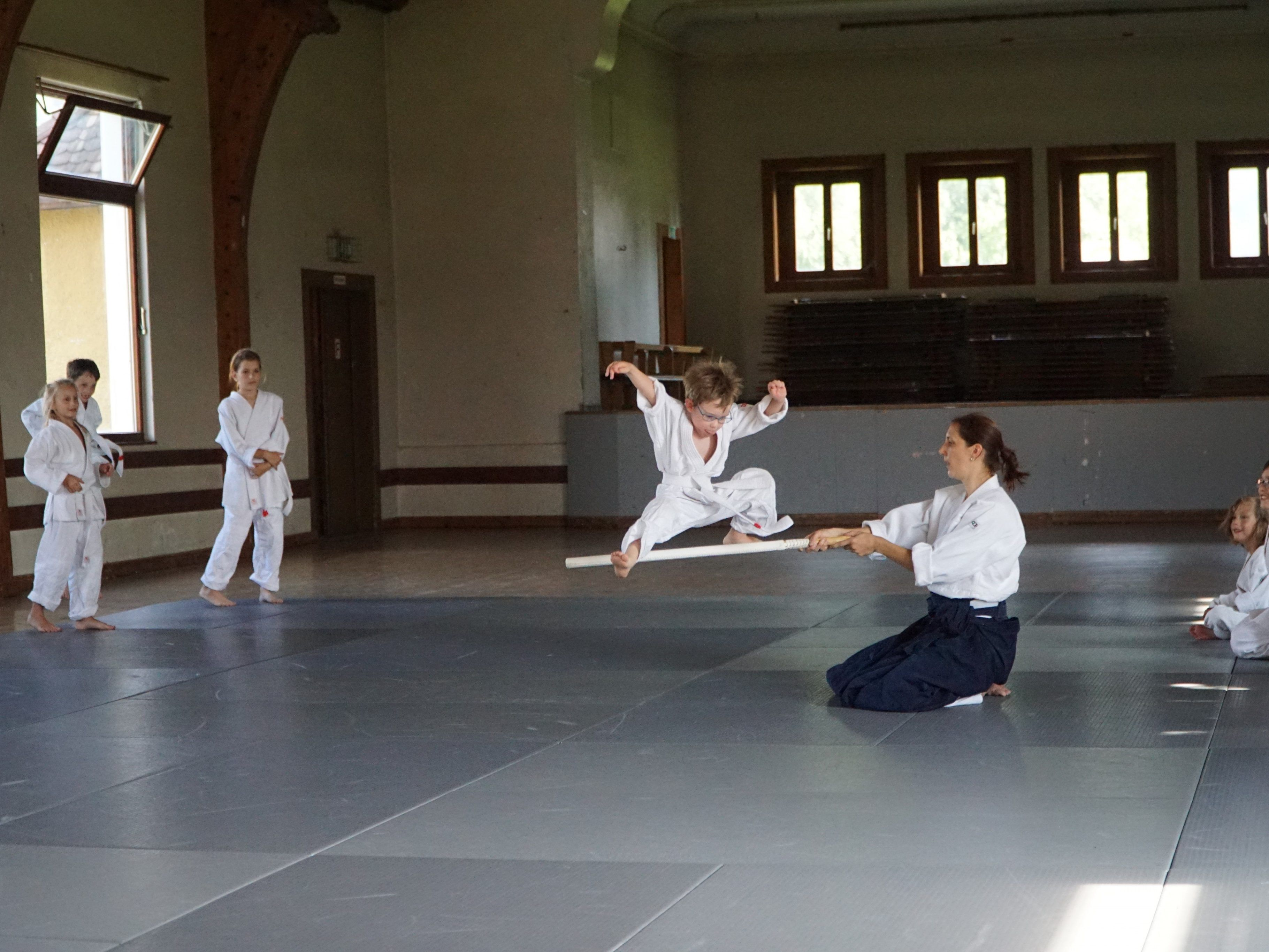 Aiki-Kids in action
