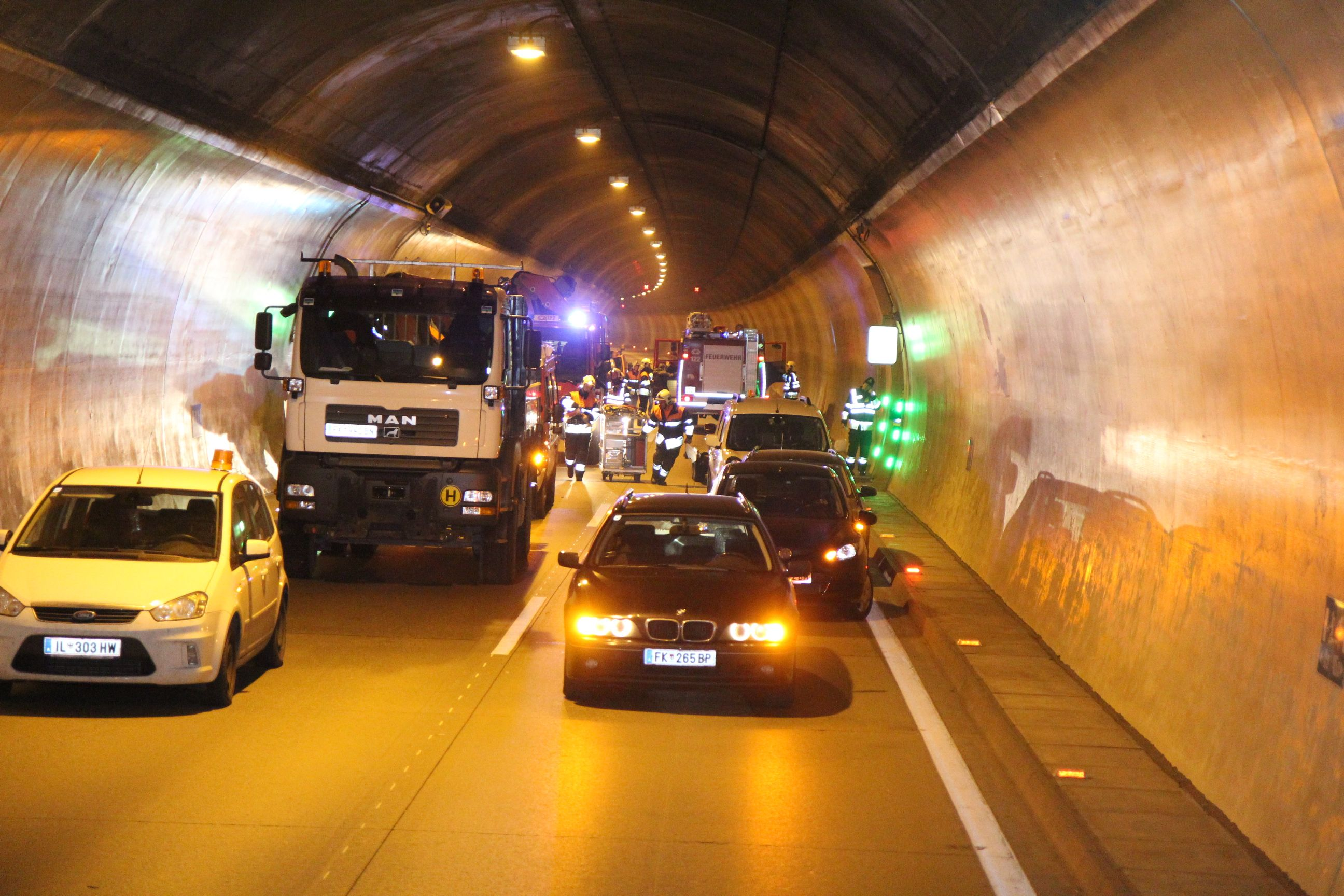 Ambergtunnel am Montag Abend gesperrt