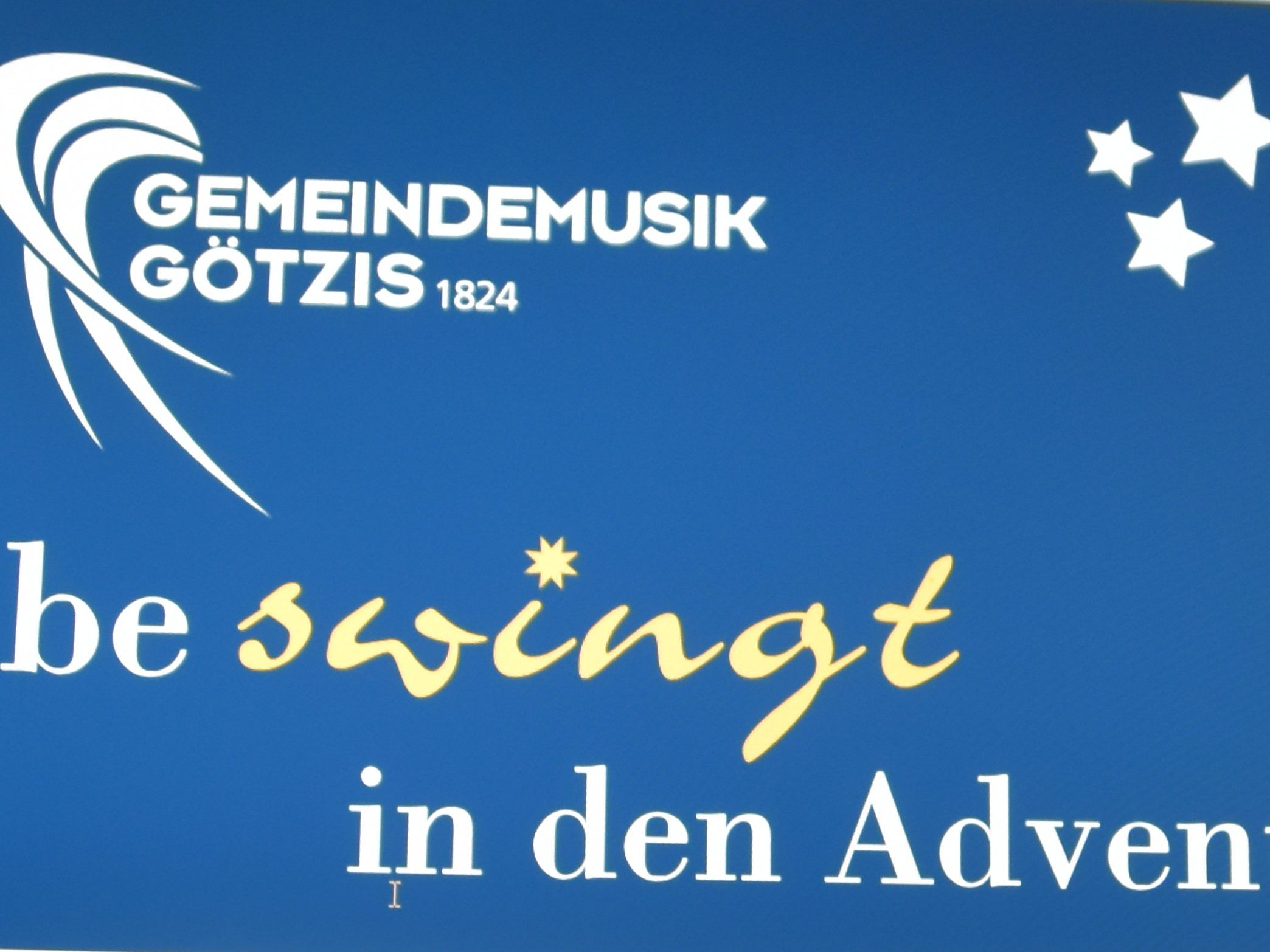 be-swingt in den Advent