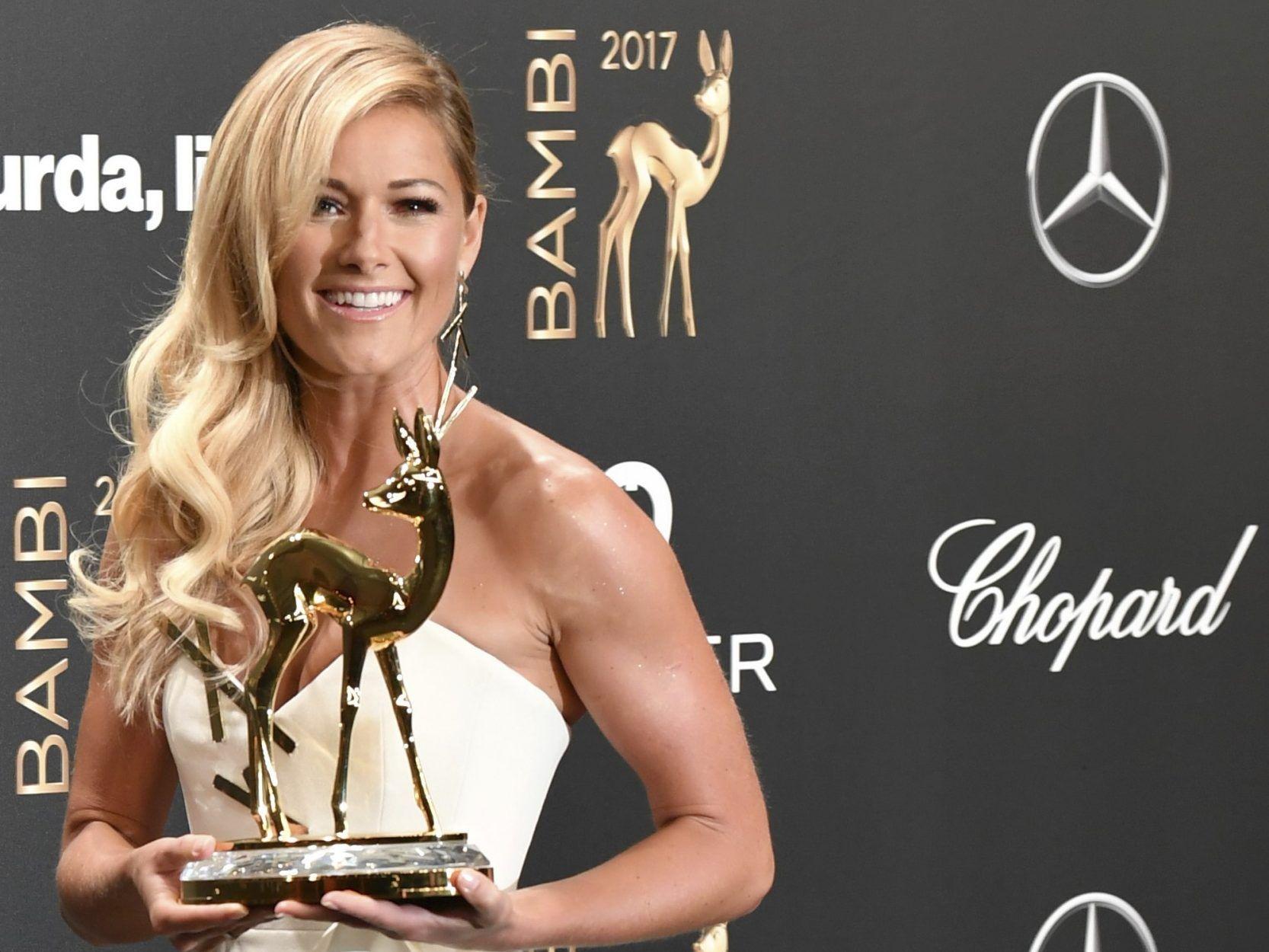 check out c05d4 a851d Helene Fischer ohne Unterwäsche bei der Bambi-Verleihung ...
