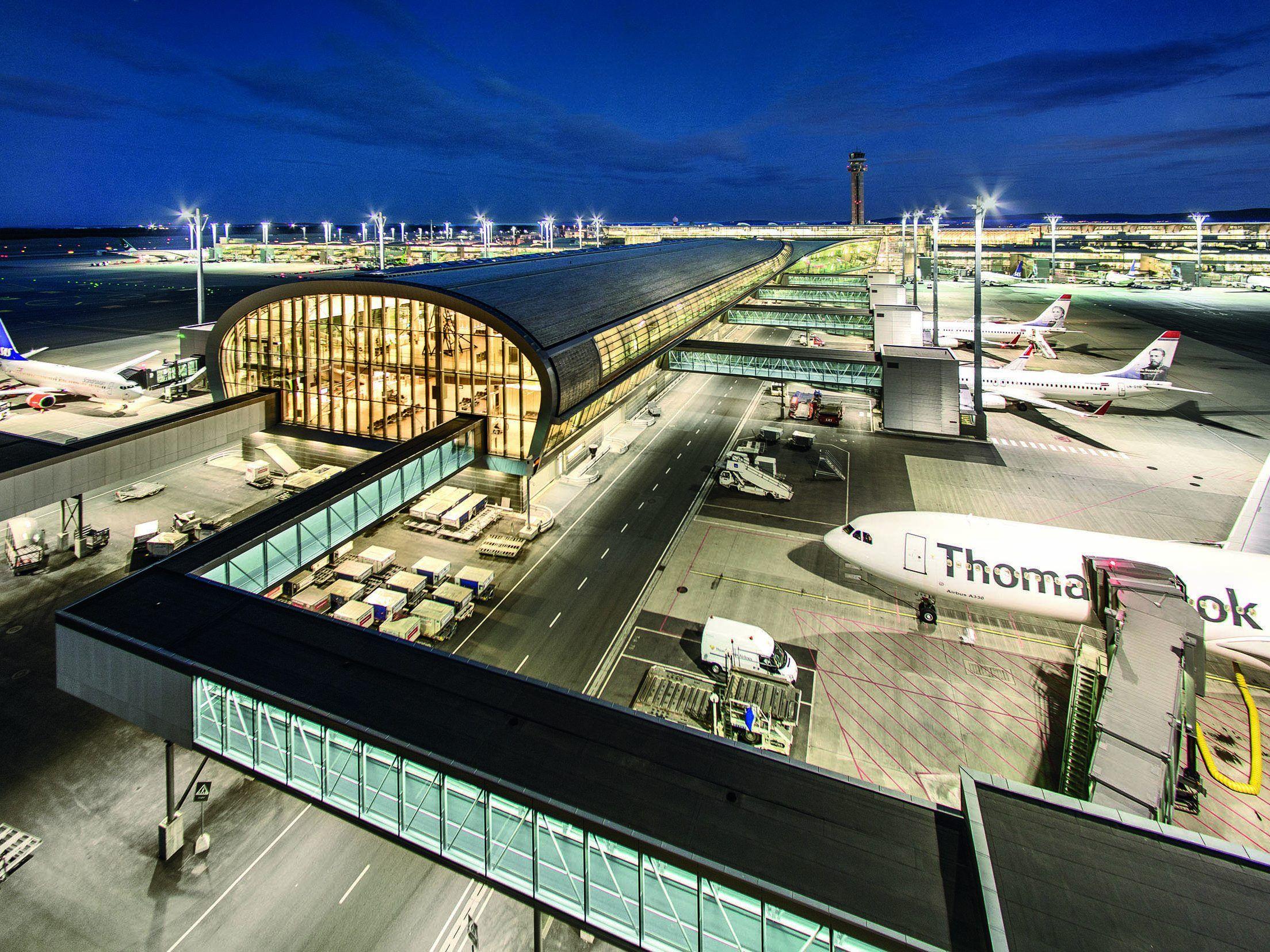 Zumtobel Group rüstet Flughafen Oslo mit 21.200 LED-Leuchten aus ...