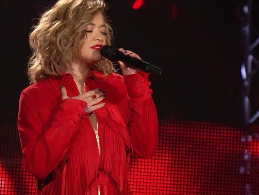 The Voice Of Germany Rita Ora