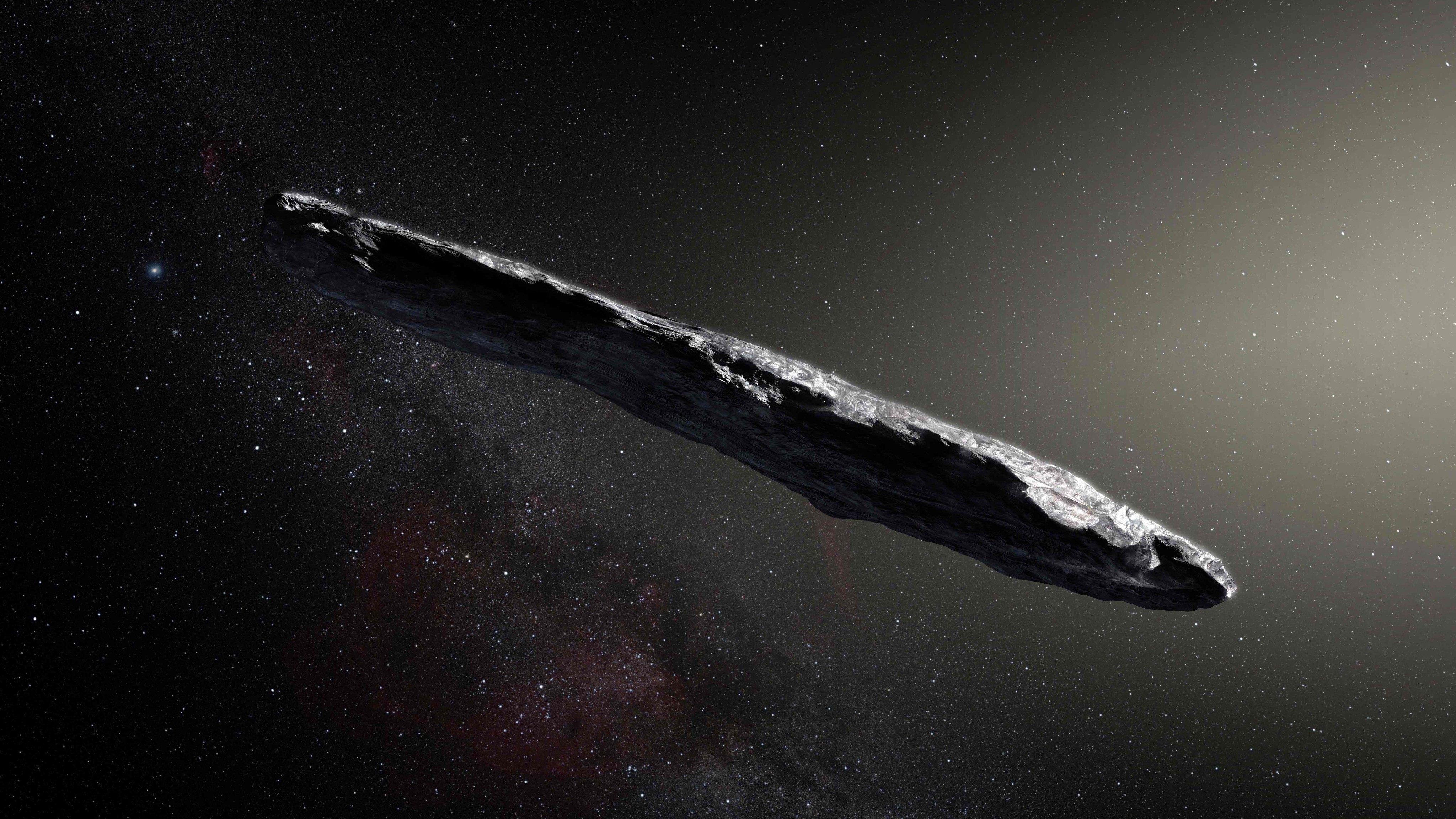 El asteroide interestelar tiene una capa aislante
