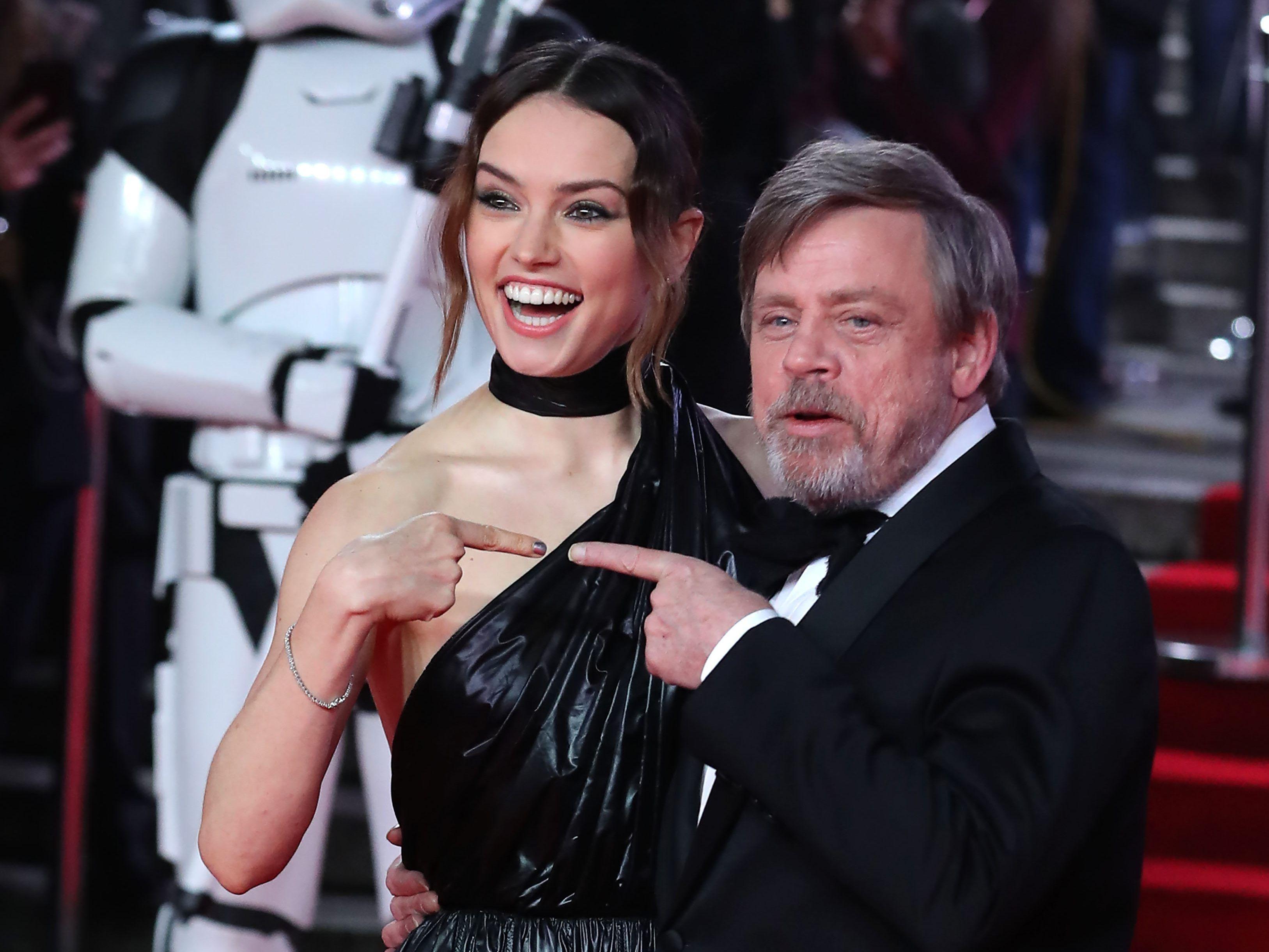 Star Wars: Die letzten Jedi: : Mark Hamill, Daisy