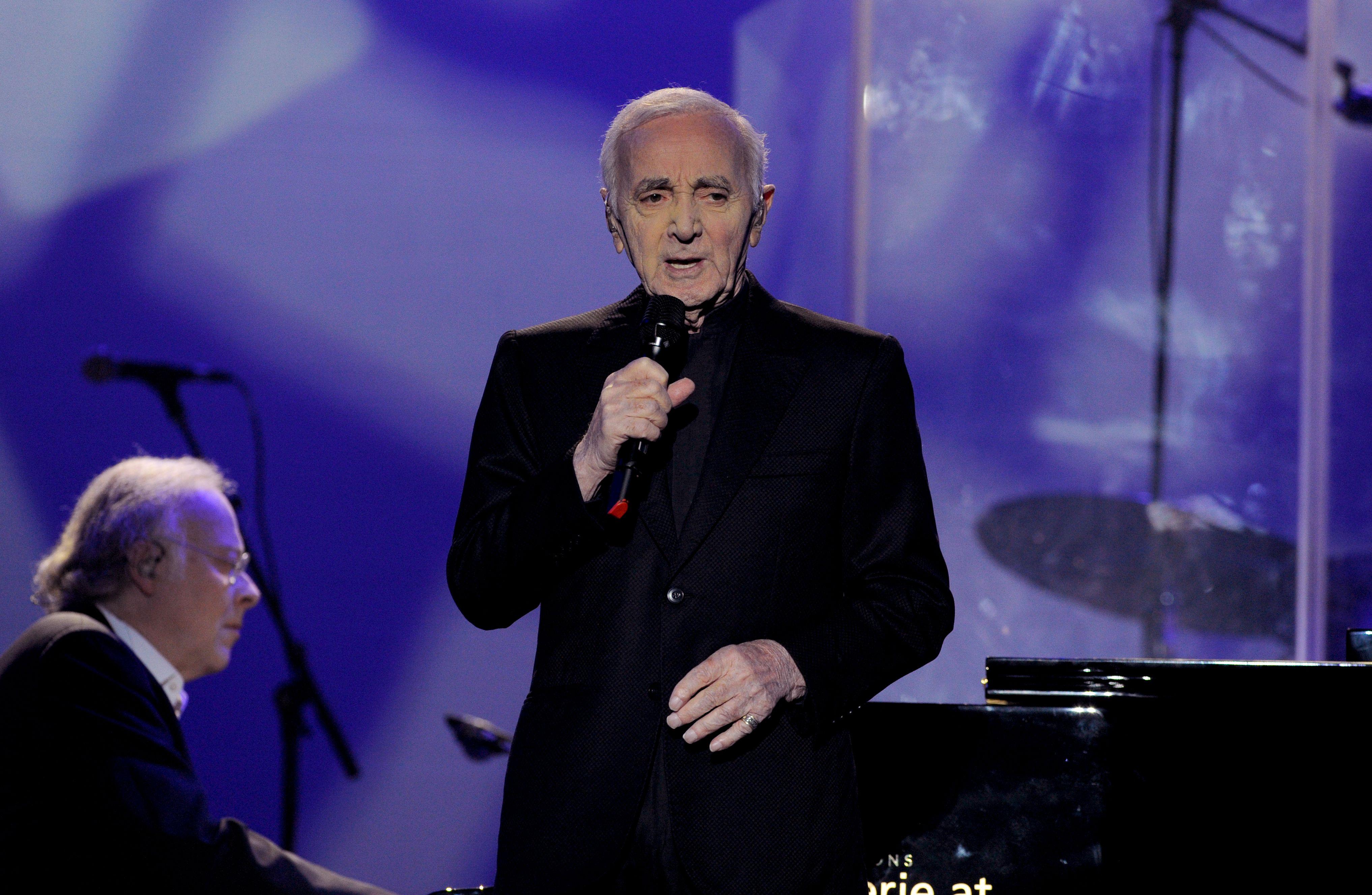 Chanson-Meister Charles Aznavour mit berührendem Konzert in Wien