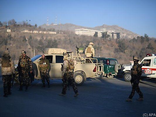 Anschlag auf Hotel Intercontinental in Kabul