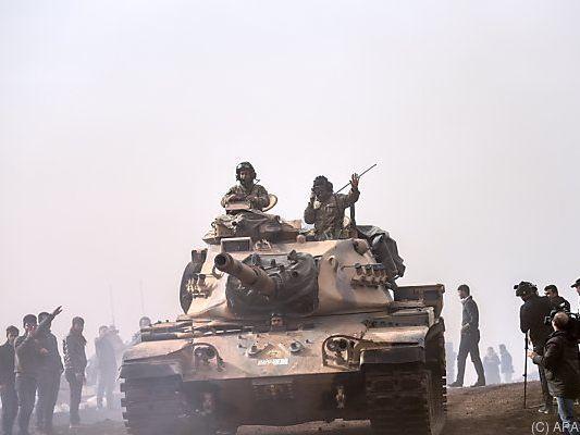 USA fordern von Türkei Zurückhaltung bei Einsatz in Syrien