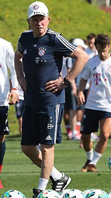 Jupp Heynckes beim Trainingslager in Katar