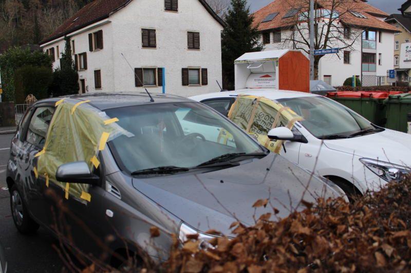 Vorarlberg: 31 Pkw-Einbrüche in einer Nacht in Bregenz
