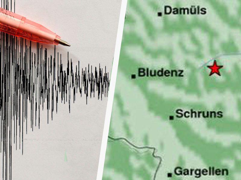 Erdbeben in Vorarlberg - leichte Schäden möglich
