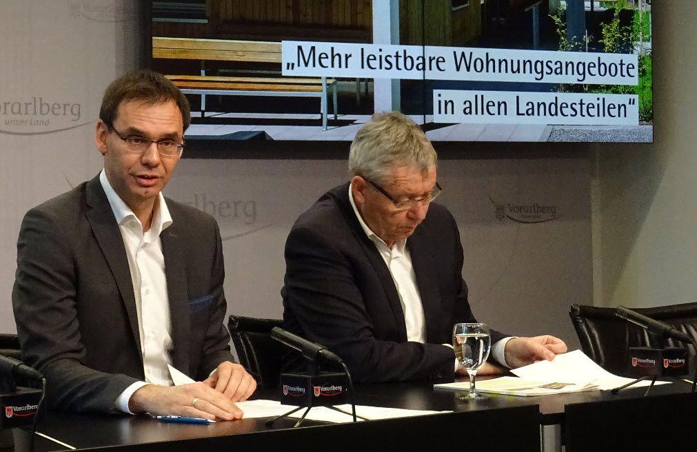 Vorarlberg: Plansoll bei gemeinnützigem Wohnbau übererfüllt