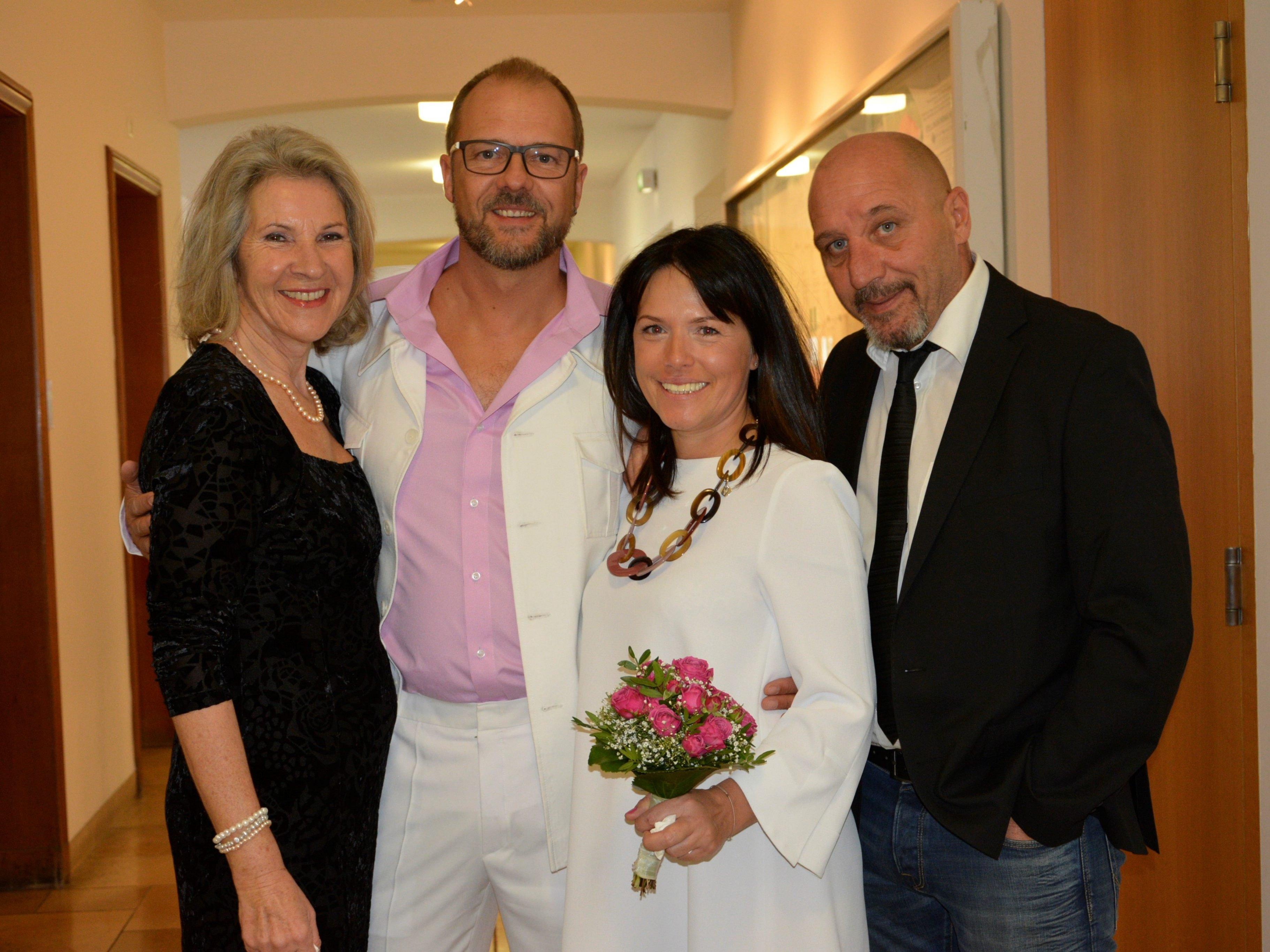 Hochzeit von Manja Vonbank und Andreas Mages - Dornbirn   VOL.AT