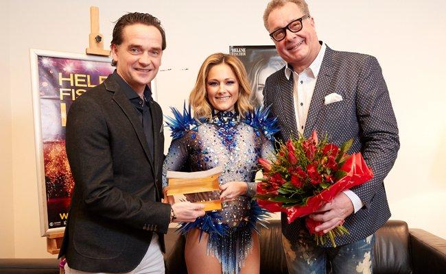 """Schlager-Sängerin Helene Fischer mit """"Wiener Stadthallen Flügel"""" geehrt"""